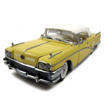 Коллекционная модель 1958 BUICK LIMITED ST YELLOW (E140344710939)
