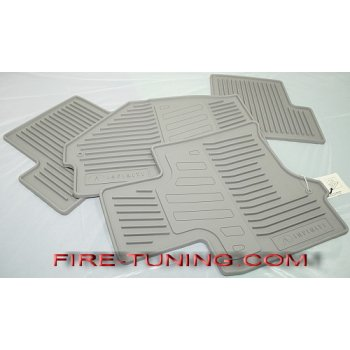 Комплект салонных ковриков (серые) для Infiniti EX35 (999E1-5U000GY)
