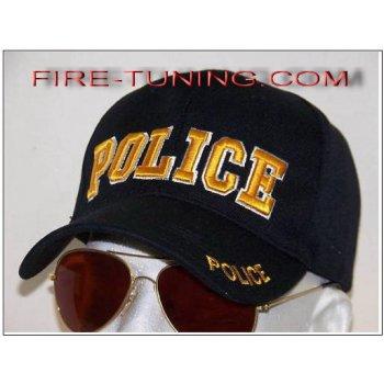 Бейсболка подразделения департамента полиции POLICE USA золото