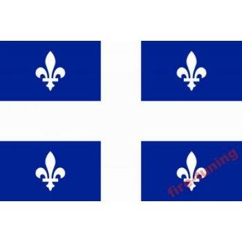 Флаг провинции Квебек КАНАДА размером 90х152 см. (E1104291274881603)
