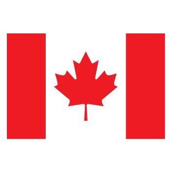 Флаг Канады размером 90х152 см. (Е300292538908)