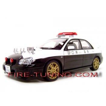 Коллекционная модель SUBARU IMPREZA WRX Полиция Японии (E4001291253929523)