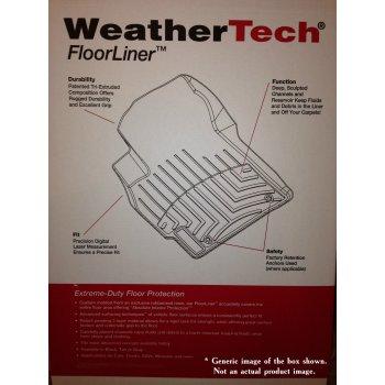 Коврики защитные салонные WeatherTech® для CHEVROLET Tahoe