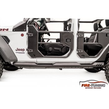 Боковые подножки для Jeep Wrangler JL