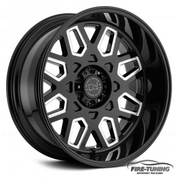 Комплект колесных дисков BLACK RHINO PREDATOR BLACK MILLED